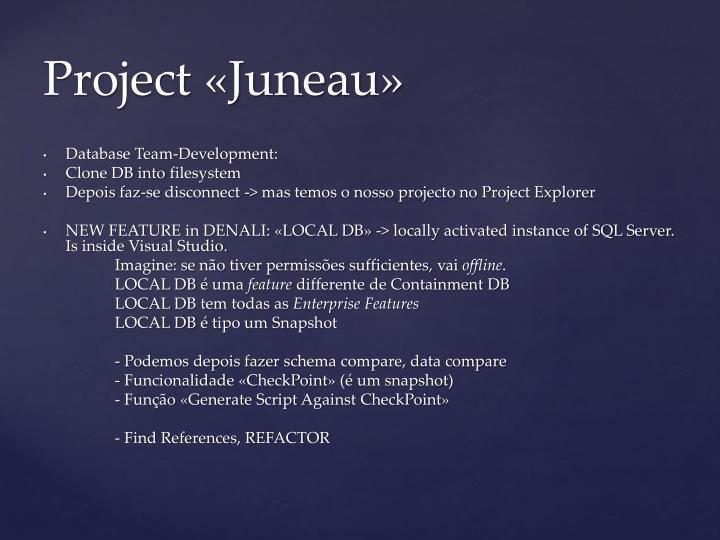 Database Team-Development:
