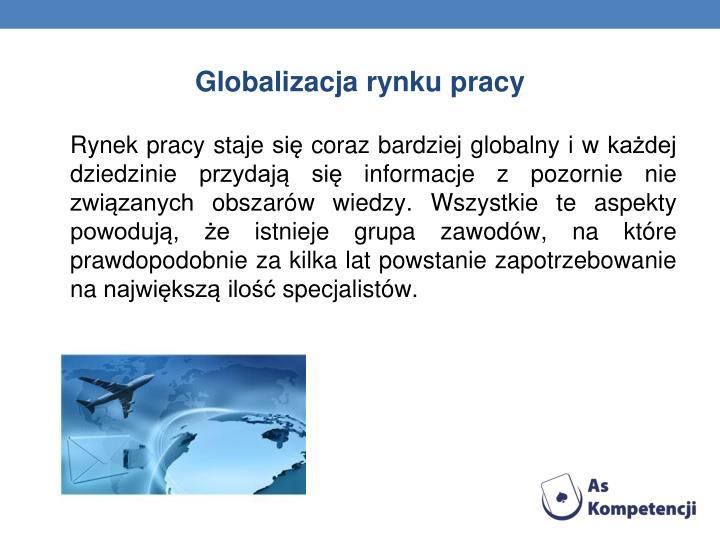 Globalizacja rynku pracy
