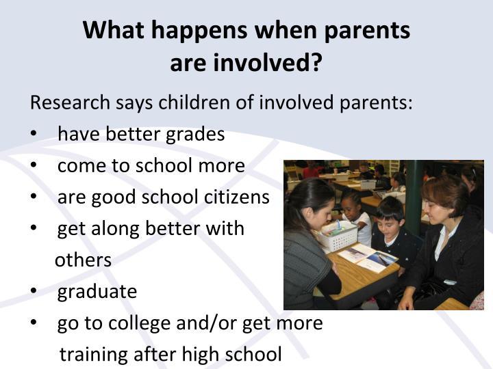 What happens when parents