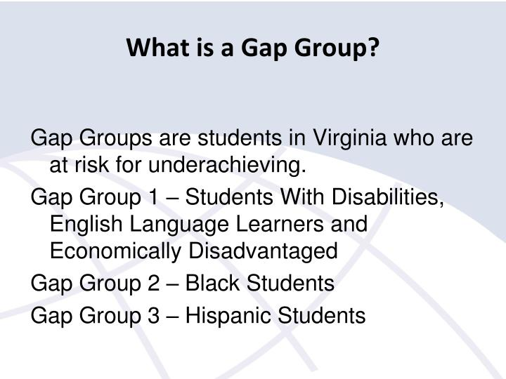 What is a Gap Group?