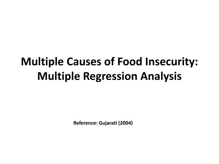 food restaurant regression analysis 2013 fast food forecasting business forecasting mariam 5 longitudinal regression analysis 4756 (1838) fast food restaurants per 10,000 per capita.