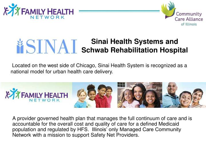 Sinai Health Systems and