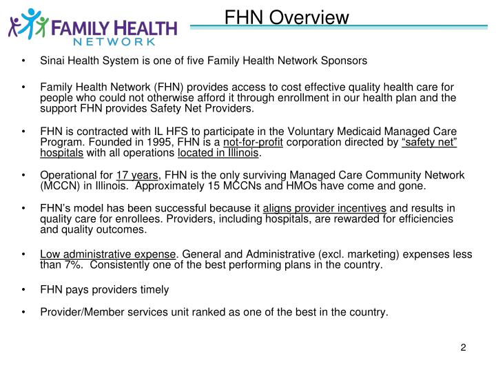 FHN Overview