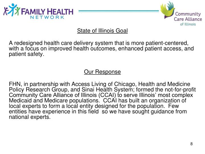 State of Illinois Goal