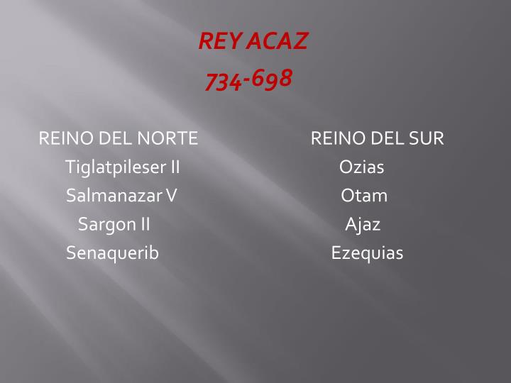 REY ACAZ