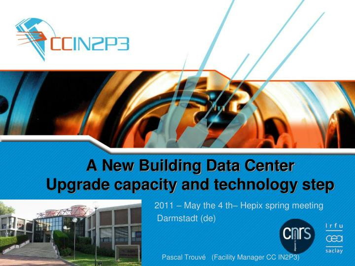 Ppt a new building data center upgrade capacity and for New house construction steps