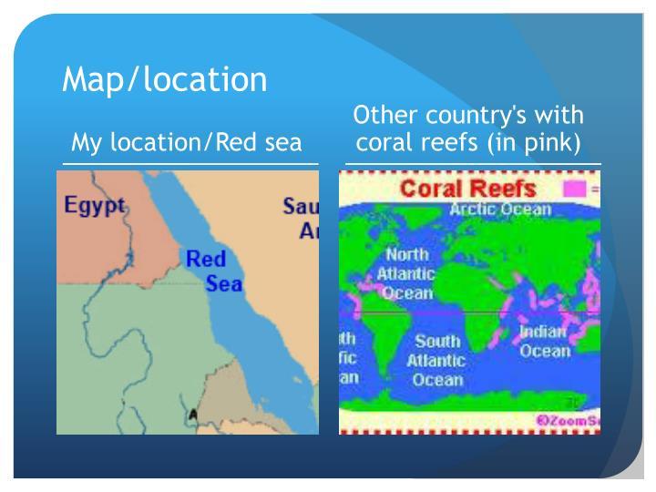 Map/location