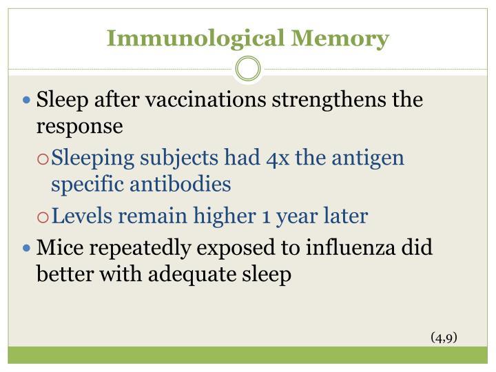 Immunological Memory