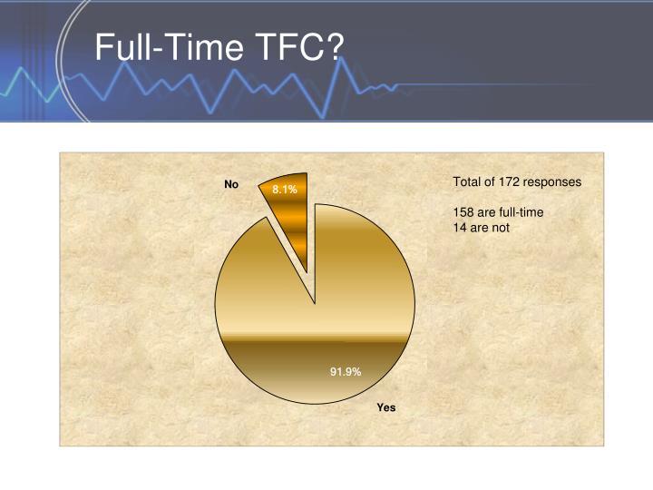 Full-Time TFC?