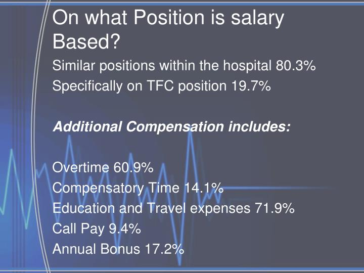 On what Position is salary Based?