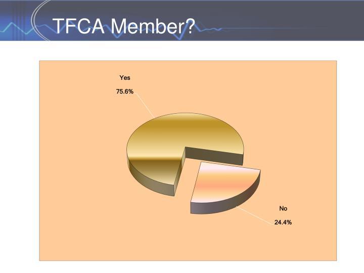 TFCA Member?