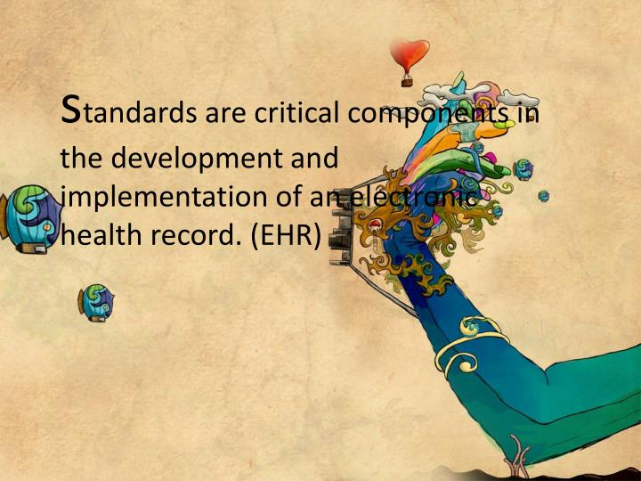 Health care data standards