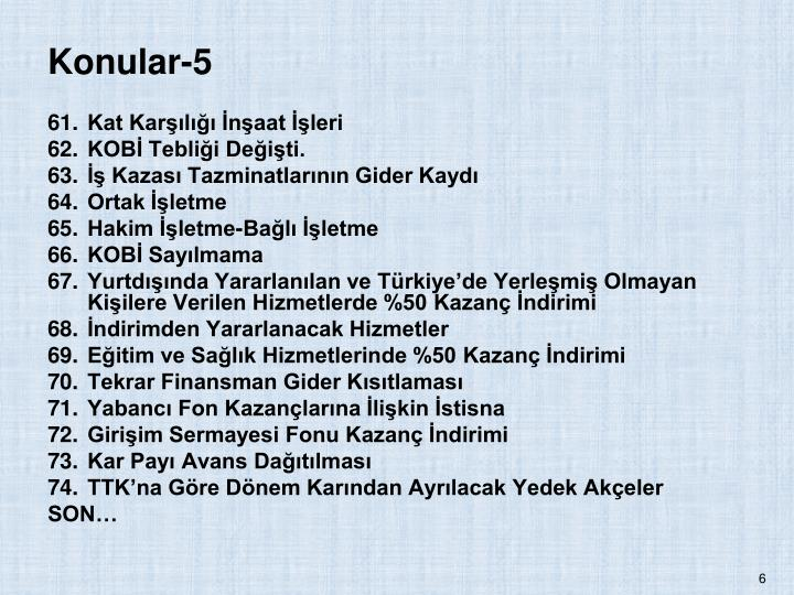 Konular-5