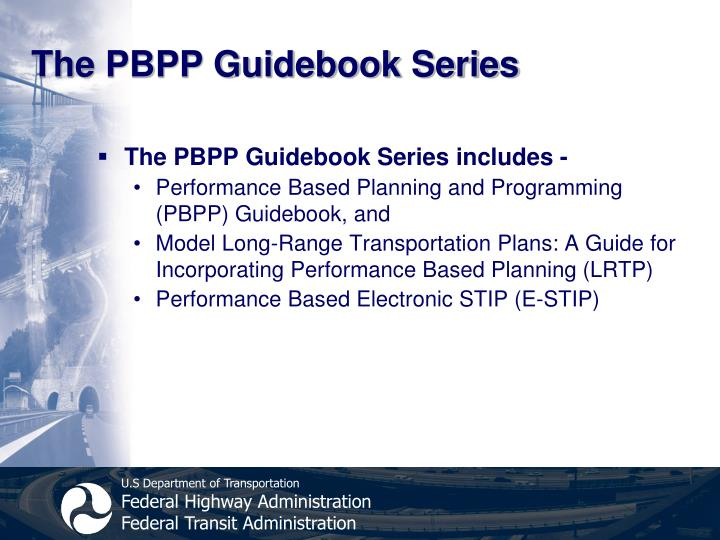 The PBPP Guidebook Series