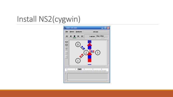 Install NS2(