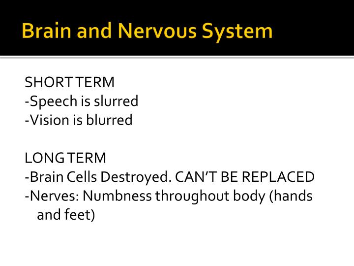 Brain and Nervous System
