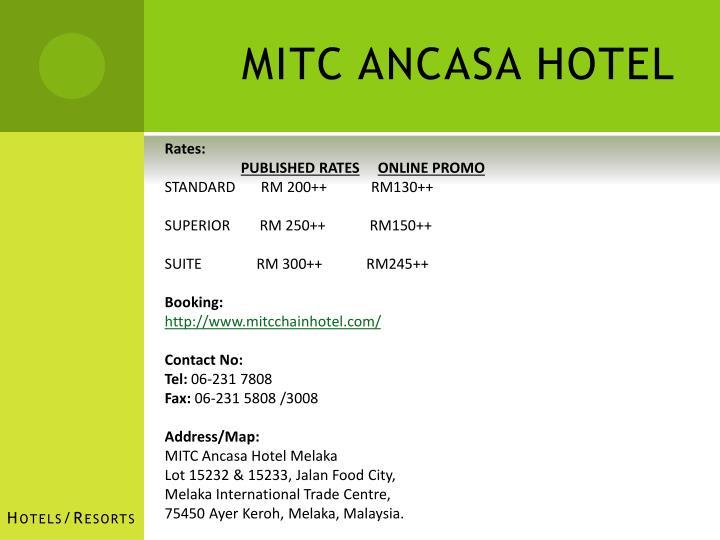 MITC ANCASA HOTEL