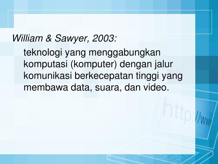 William & Sawyer,
