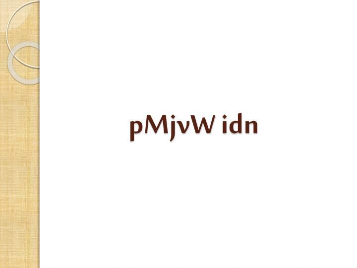 pMjvW