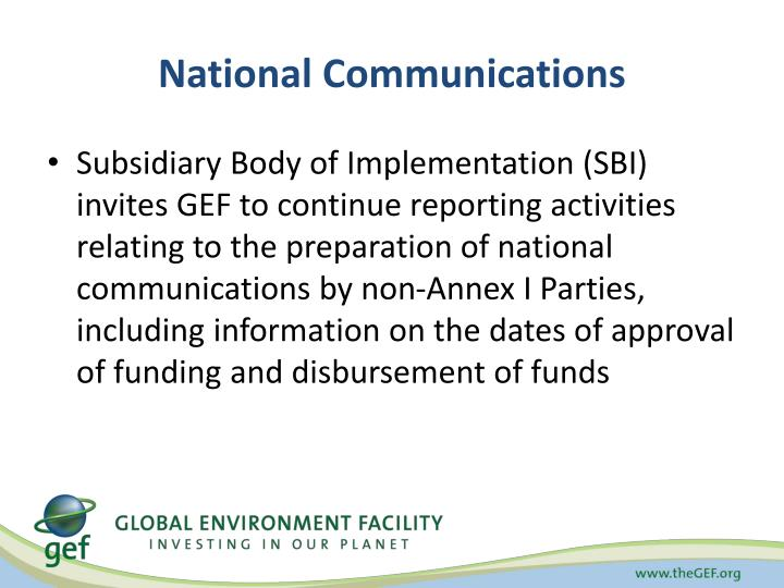 National Communications