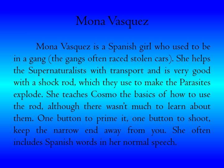 Mona Vasquez