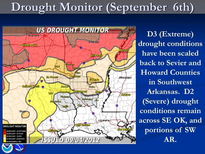 Drought Monitor (September  6th)