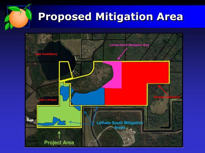 Proposed Mitigation Area