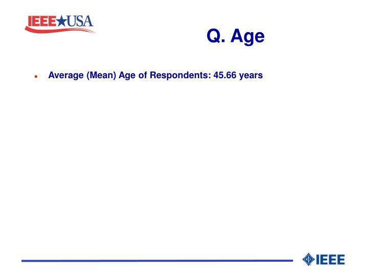 Q. Age