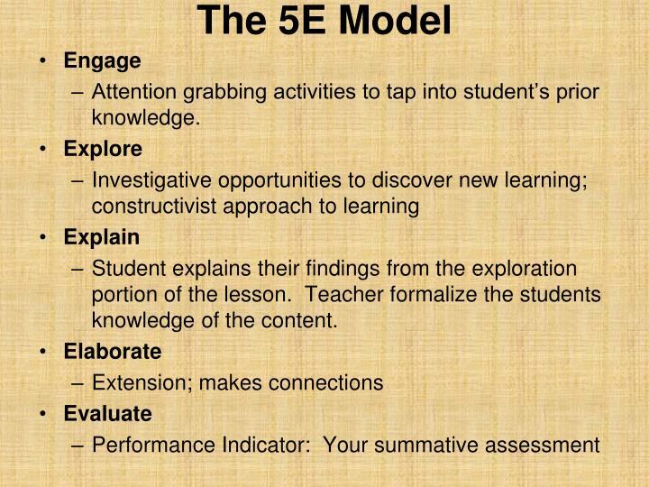 The 5E Model