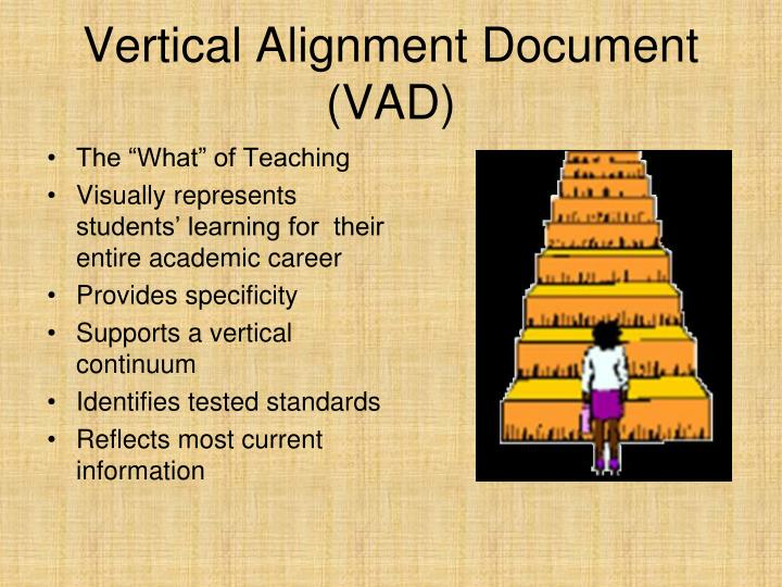 Vertical Alignment Document