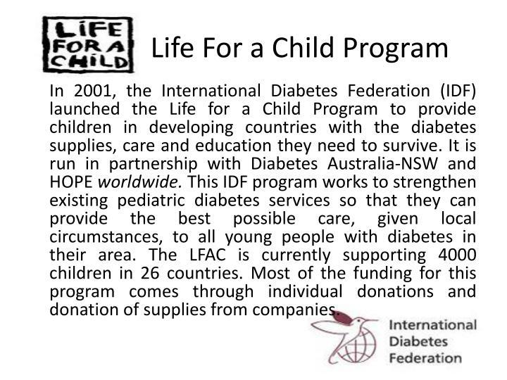 Life For a Child Program