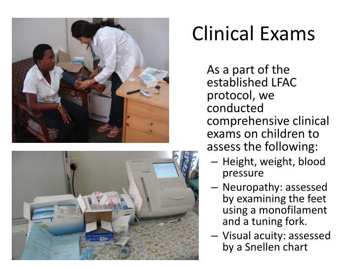 Clinical Exams