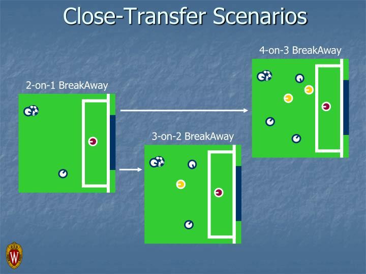 Close-Transfer Scenarios