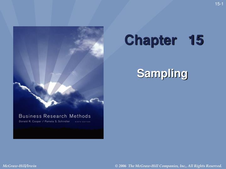 Chapters Of Research