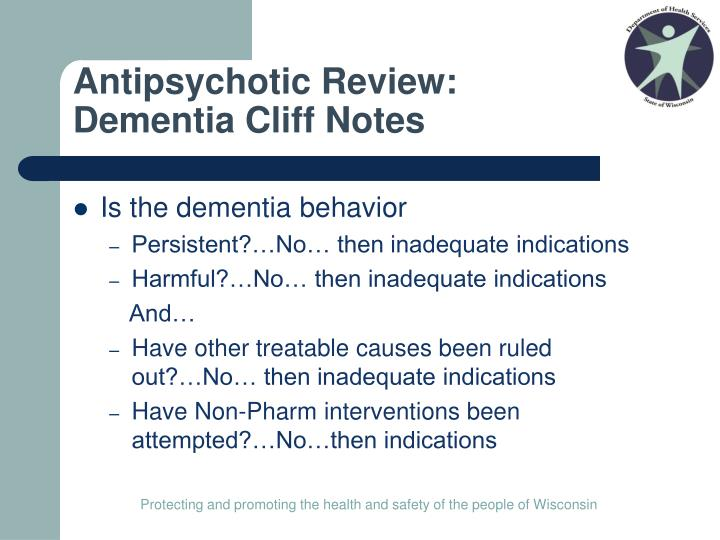 Antipsychotic Review: