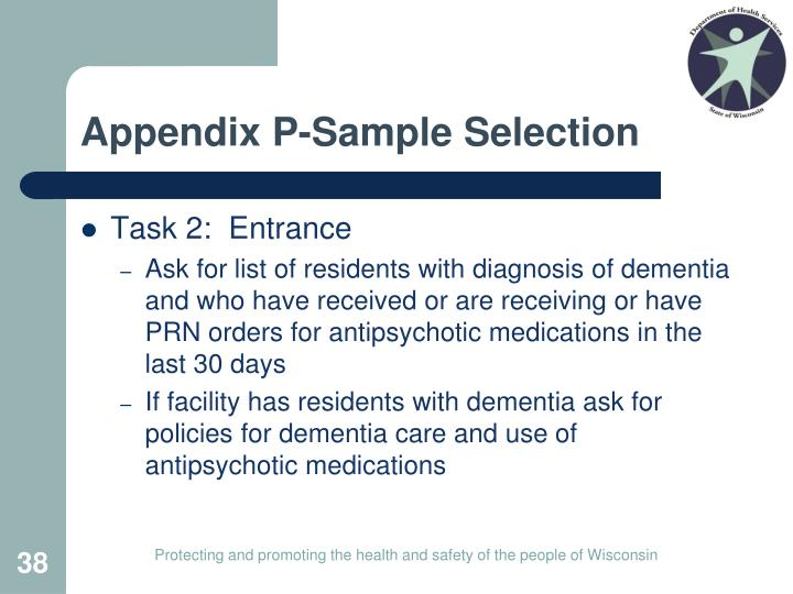 Appendix P-Sample Selection