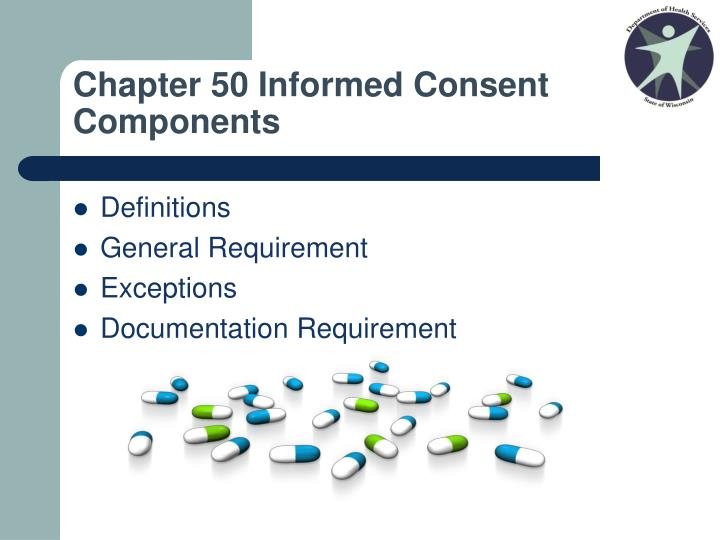 Chapter 50 Informed Consent Components