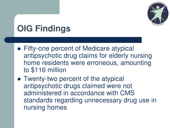 OIG Findings