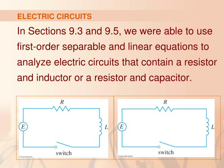 ELECTRIC CIRCUITS