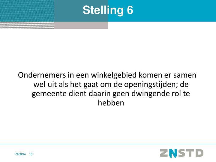 Stelling 6