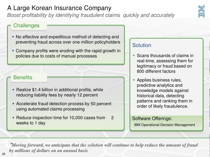 A Large Korean Insurance Company