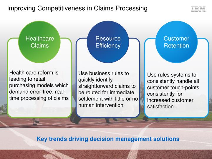 Improving Competitiveness in Claims Processing