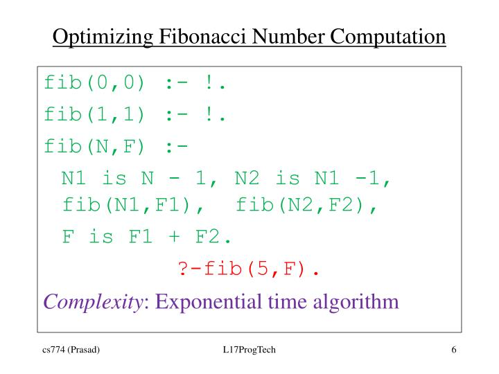Optimizing Fibonacci Number Computation