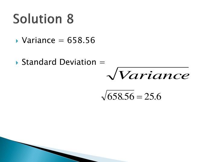Solution 8