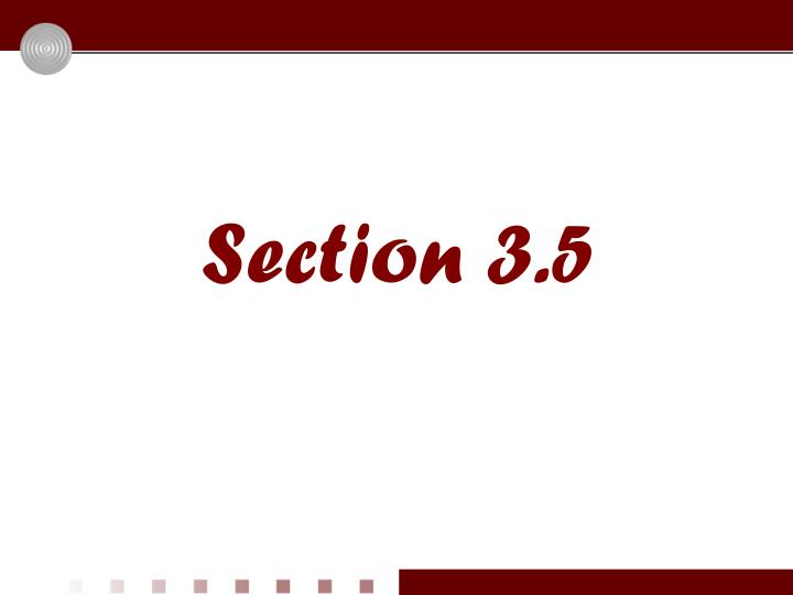 section 3 5
