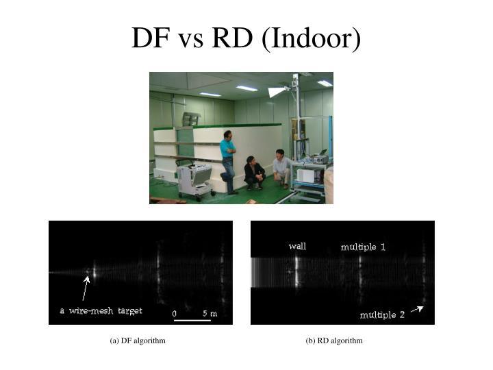 DF vs RD (Indoor)