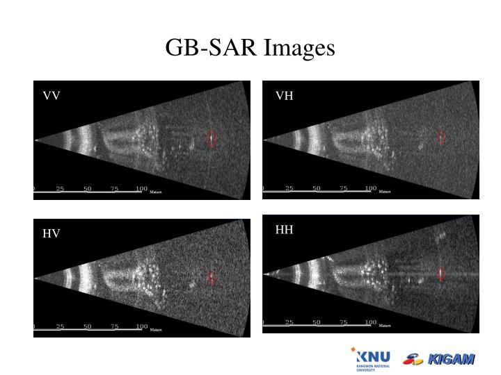 GB-SAR Images