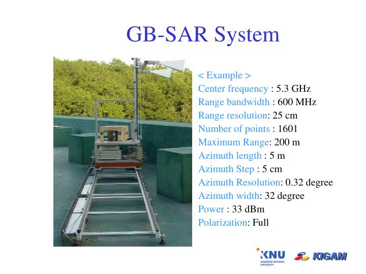GB-SAR System