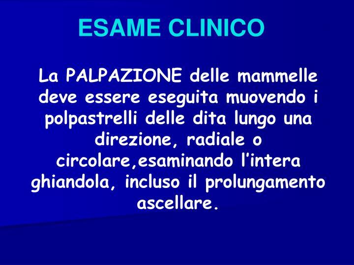 ESAME CLINICO