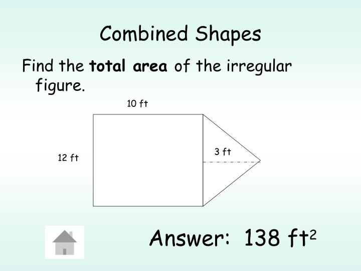 Combined Shapes